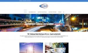 site internet électricien nice carros